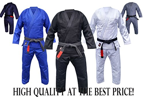 Your Jiu Jitsu Gear Brazilian Jiu Jitsu Premium Black BJJ Uniform A3