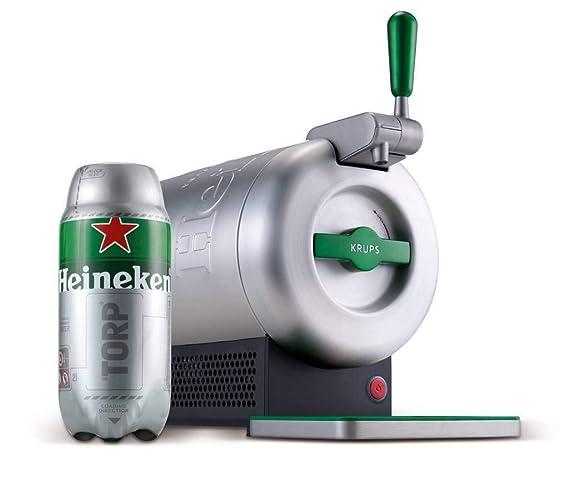 Pack Heineken THE SUB | Tirador de cerveza de barril THE SUB Heineken Edition + 10 TORP Heineken barril de cerveza de 2 litros Consumo Preferente 31/01/2019 ...