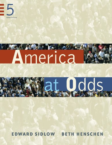 America at Odds (Available Titles CengageNOW)