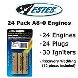 Estes A8-0 Model Rocket Engines (24 pack)