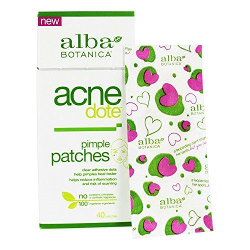 Alba Botanica (ajno9) Alba Botanica Acnedote Pimple Patches, 40 Count