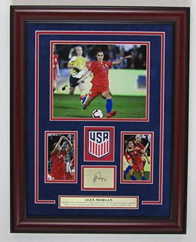 Alex Morgan 100th WNT Goal Laser Autograph Photo Collage Framed 143800 (Alex Morgan Best Goals)