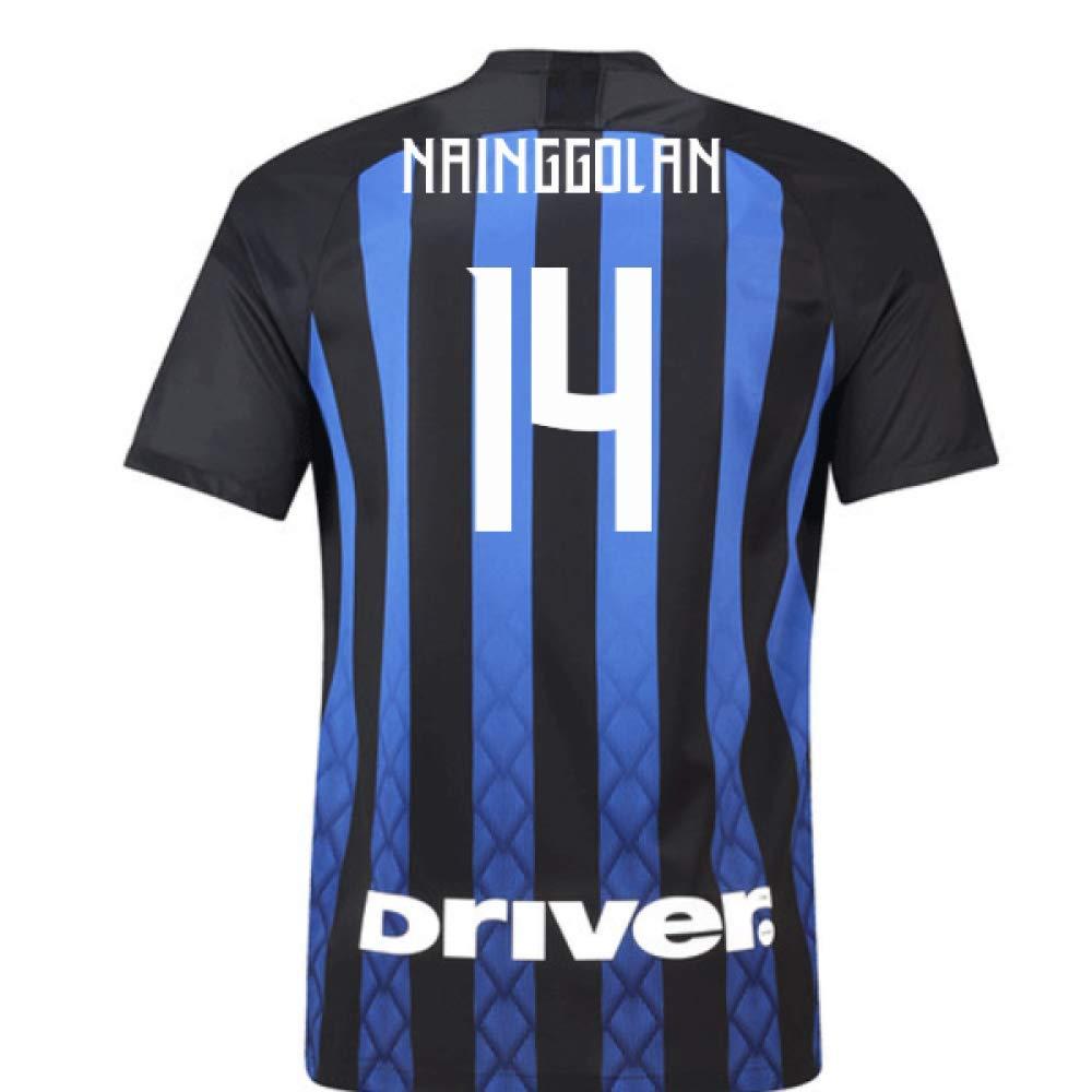 2018-19 Inter Milan Home Football Soccer T-Shirt Trikot (Radja Nainggolan 14)
