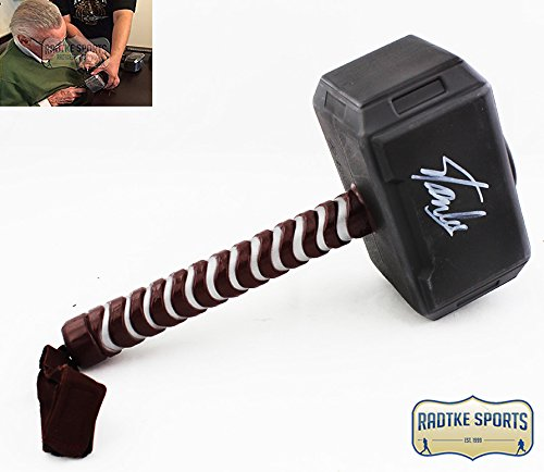 Stan Lee Autographed/Signed Marvel Thor Miniature Movie Style Prop Hammer - Movie Memorabilia Props