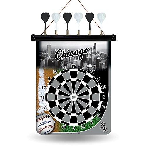 Mlb Team Darts - MLB Chicago White Sox Magnetic Dart Board