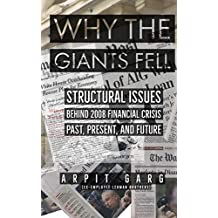 Why the Giants Fell: Structural Issues behind 2008 Financial Crisis Past, Present, and Future