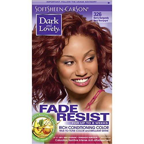 SoftSheen-Carson Dark and Lovely Fade Resist Rich Conditioning Color, Berry Burgundy 326