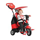 #6: Smart Trike - 4 in 1 Cruise Baby Tricycle, Red