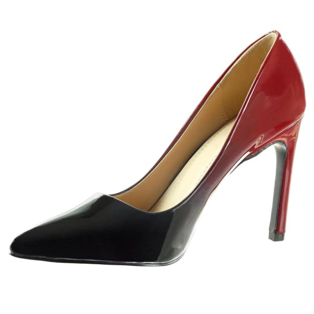 Angkorly Women's Fashion Shoes Pump Court Shoes - Stiletto - Decollete - Color  Gradient Stiletto High Heel 10 cm: Amazon.co.uk: Shoes & Bags