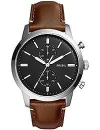 Men's FS5280 Townsman 44mm Chronograph Brown Watch