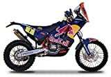 KTM 450 Rally Dakar #1 ''Red Bull'' Motorcycle 1/18 by Bburago 51071