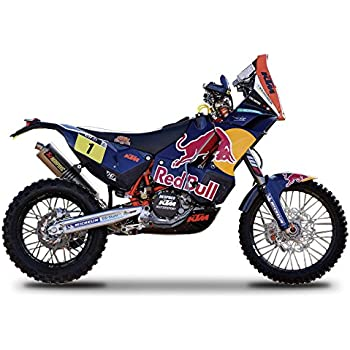 ktm 450 rally dakar 1 red bull motorcycle 1 18 by bburago 51071 toys games. Black Bedroom Furniture Sets. Home Design Ideas