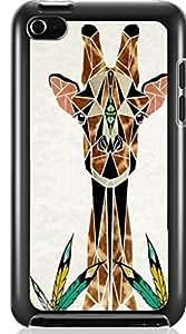 Cute Giraffe Animal Hard Case for Apple iPod touch 4 4G 4TH ( Sugar Skull )