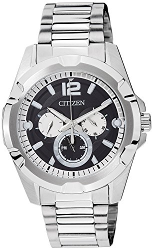 Citizen Analog Black Dial Men's Watch – AG8330-51E