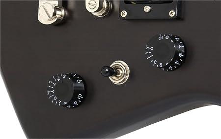 Epiphone Explorer GT guitarra eléctrica (Worn), color negro: Amazon.es: Instrumentos musicales