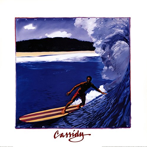 Banzai Pipeline by Michael Cassidy Art Print