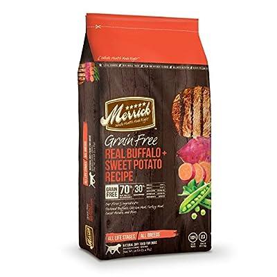 Merrick Grain Free Real Buffalo & Sweet Potato - 4 lbs