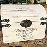 Cheap Lockable Secured Distressed Card Box – Rustic Wedding Decor – Wedding Card Box – Rustic Wedding Card Box – Wedding Chest – Card Holder