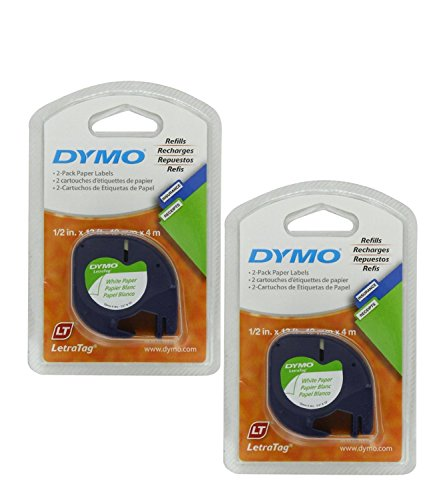 dymo-letratag-pack-paper-label-refills-white-1-2-x-13-feet-pack-of-4-dym10697-2