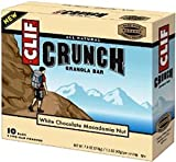 Clif Crunch Granola Bar, White Chocolate Macadamia Nut (Pack of 3) by Clif