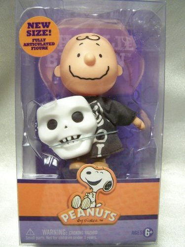 Peanuts charlie brown Trick or Treat Halloween Poseable Figure Forever Fun -