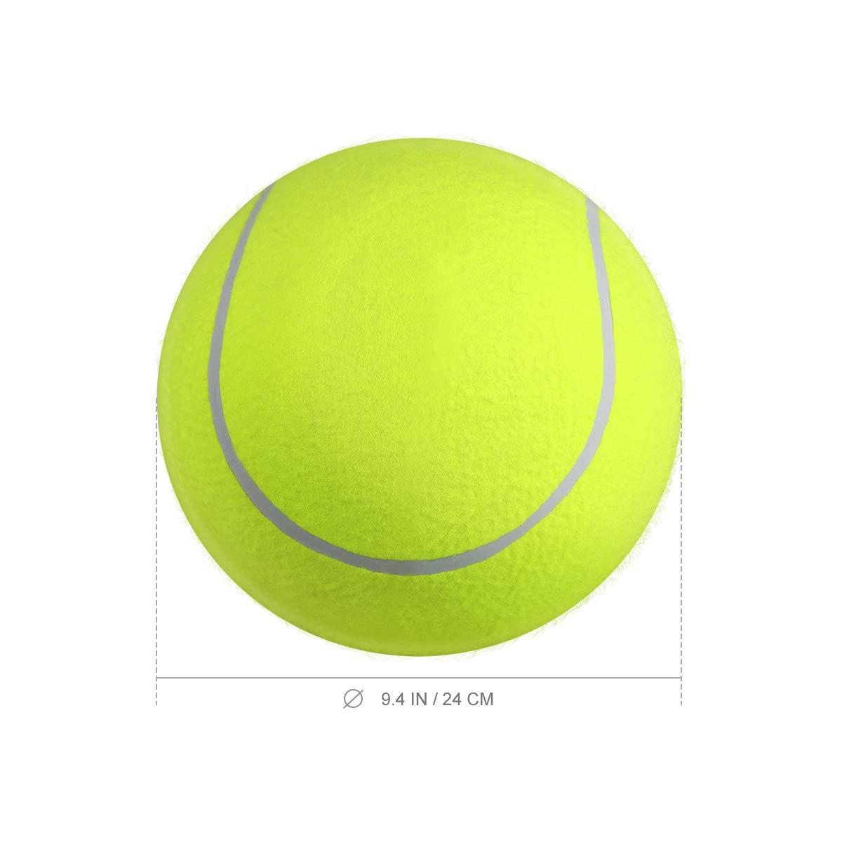 Supvox 9,5 Pulgadas de Pelota de Tenis Gigante para Perro Gato ...