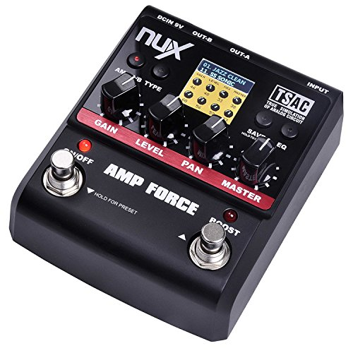 JEERUI Nux Amp Force Digital Effects Pedal by JEERUI