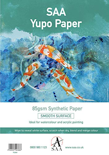 Yupo Painting Paper 25 loose sheets A4 85gsm 296 x 210mm by The SAA