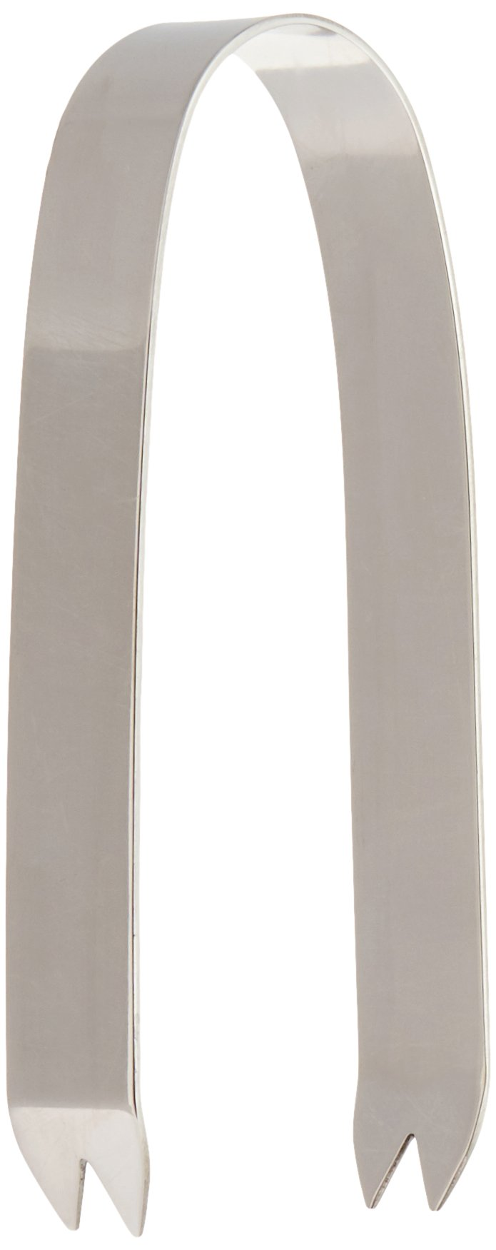 Mod18 Steelworks SM-02 6'' Ice Tong, Polished Stainless