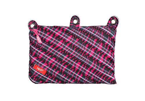 ZIPIT Cosmo 3-Ring Pencil Case, Pink Zebra