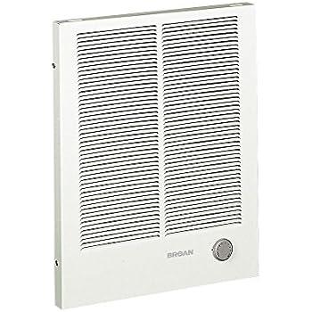 Broan 194 High Capacity Wall Heater  1500 3000 Watt 240 VAC  White Painted. Broan 198 High Capacity Wall Heater  2000 4000 Watt 240 VAC  White