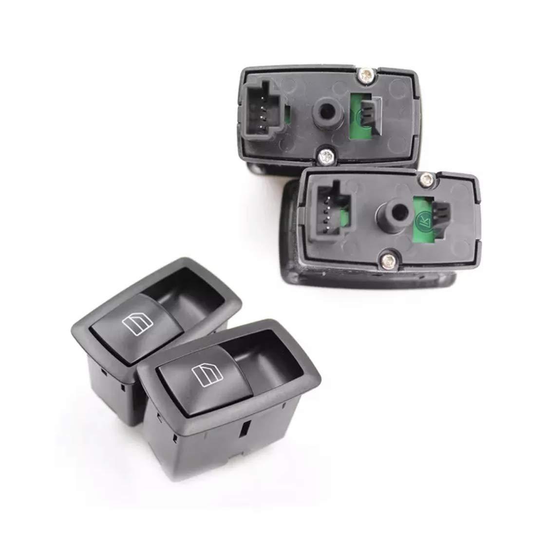 Thuron A2518200510 Interruptor para elevalunas de lado del pasajero para Clase A W169 Clase B W245
