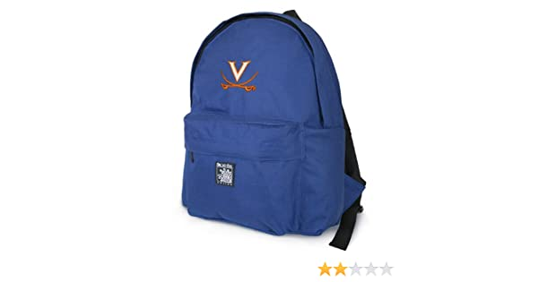 501371be470c Amazon.com : UVA Backpack Compact University of Virginia SMALLER ...
