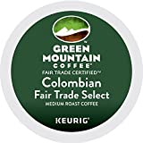 Green Mountain Coffee Colombian Fair Trade Select Keurig Single-Serve K-Cup Pods, Medium Roast Coffee, 24 Count