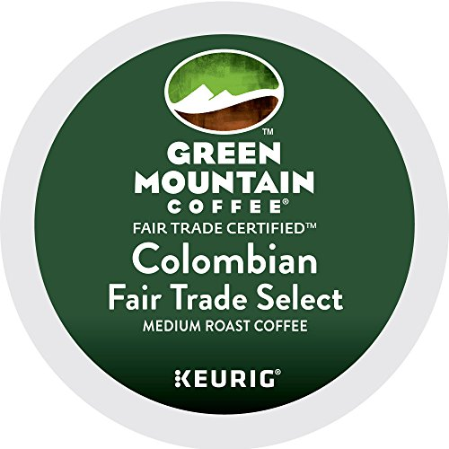 Green Mountain Coffee Colombian Fair Trade Select Keurig Single-Serve K-Cup Pods, Medium Roast Coffee, 24 Count by Green Mountain Coffee