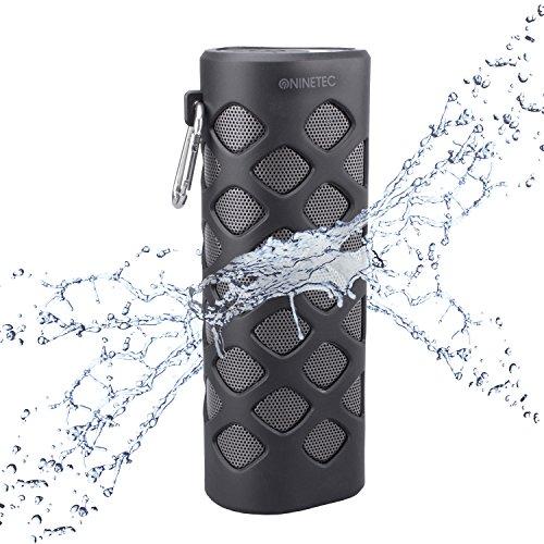 NINETEC Oxygen Wasserdichter Bluetooth NFC Speaker Lautsprecher Power Bank
