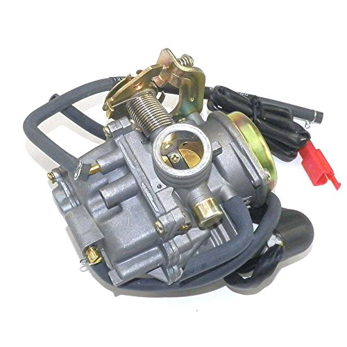 YunShuo Performance Carburetor 50cc-100cc 139QMB GY6 Scooter Carb CVK 20mm by YunShuo (Image #8)