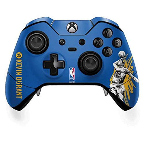 Skinit Golden State Warriors Xbox One Elite Controller Skin Skin - Ultra Thin, Lightweight Vinyl Decal Protection
