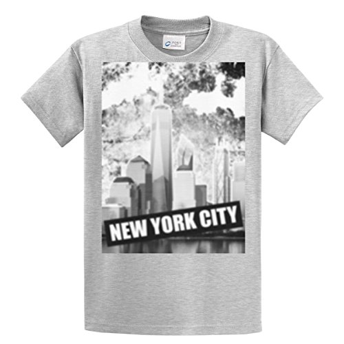Freedom Mens Tee (LDBrands Mens New York City Freedom Tower T-Shirt XX-Large)