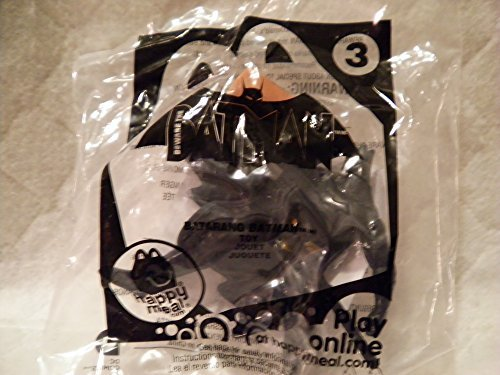 Mcdonald's Happy Meal 2013 Beware of Batman #3 Batarang Batman Figure