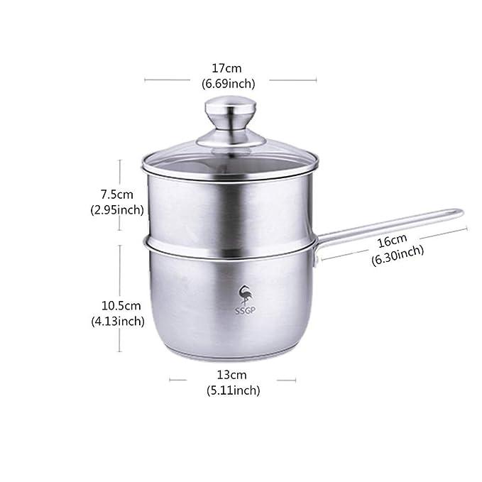 LULUDP Batería de cocina Sartenes y ollas Sartén de inducción ...