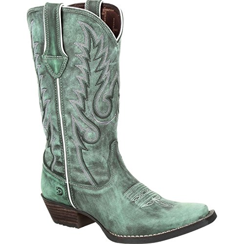 Durango Dream Catcher Women's Teal Western Boot Mid Calf, Gypsy, 7.5 M US (Gypsy Boots Cowgirl)