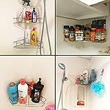 Soft Digits 2-Pack Corner Shower Caddy, Extra Mop