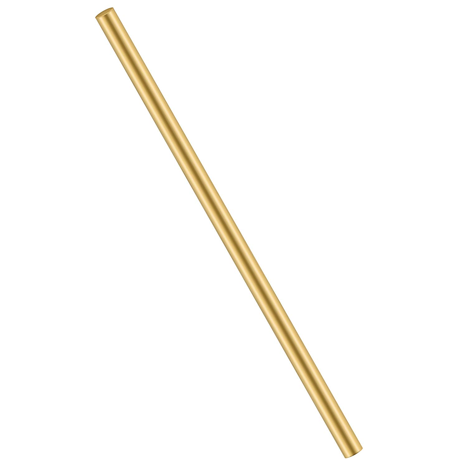 1/2 Inch Brass Round Rod, Favordrory 1PCS Brass Round Rods Lathe Bar Stock, 1/2 Inch in Diameter 12 Inch in Length
