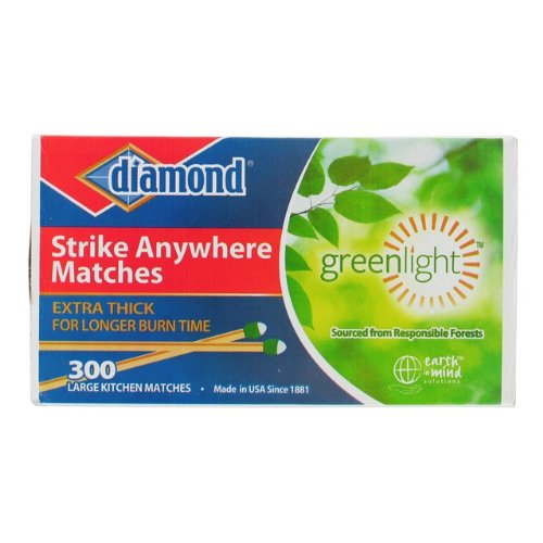Diamond 300 Count Matches (Matches 300 Pack)