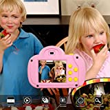 Digital Camera for Kids, Video Camcorder HD 1080P Handheld 8X Digital Zoom for Children, Best Gift...