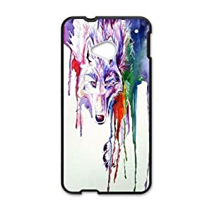 LTTcase Custom Rainbow Wolf Durable Case for HTC one m7