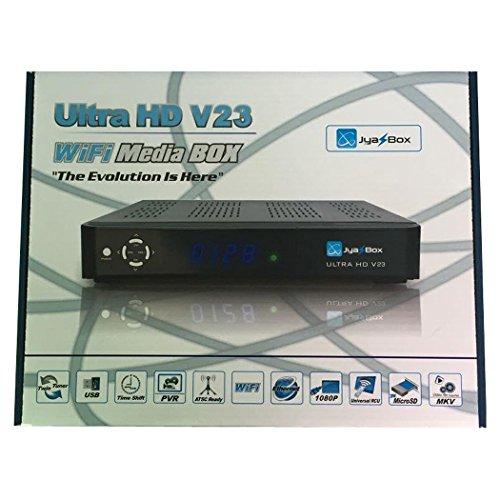 Jyazbox Ultra HD v23 FTA JB200 Satellite Receiver Upgrade...