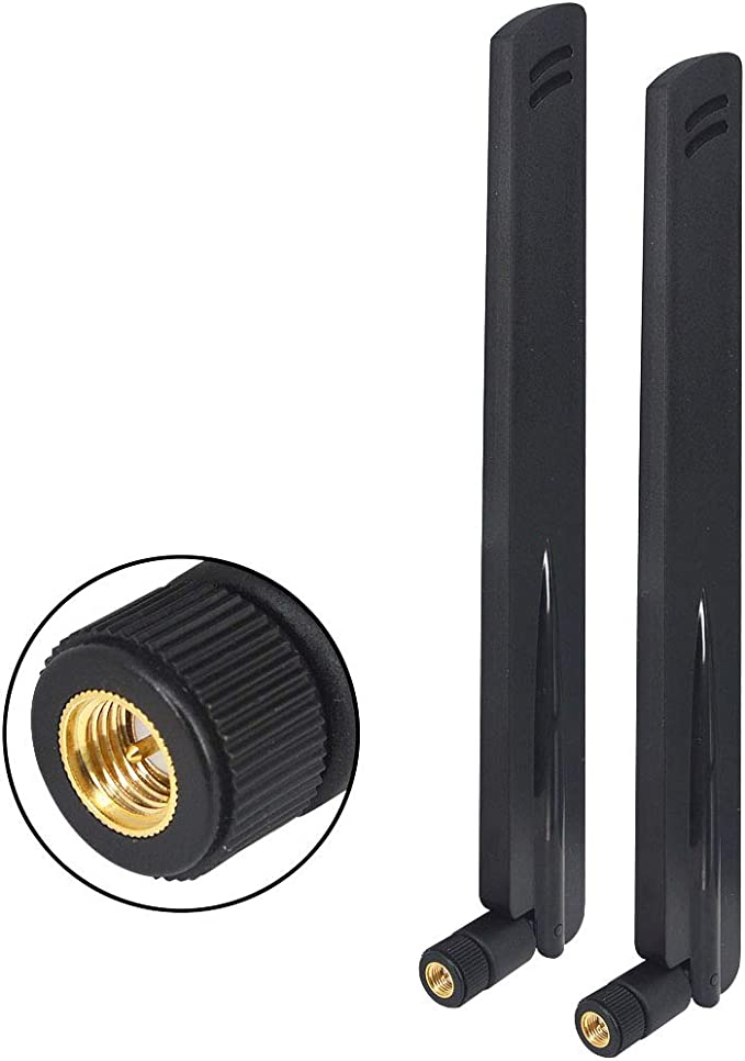 YILIANDUO Antena 12dBi 433 MHz High Gain NFC RFID Antena SMA Conector Omni Directional Antena para Router Modem adaptador Booster Wireless Homematic ...