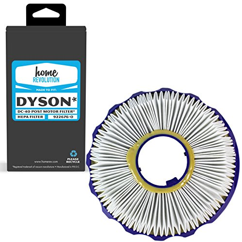 Quality Motor (Dyson DC40 Part # 922676-0 for Dyson DC40 Multi-floor Upright Vacuum, Comparable Post Motor HEPA Style Filter. A Home Revolution Brand Quality Aftermarket Replacement)